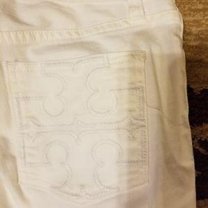 NWT Tory Burch Capri jeans size 26